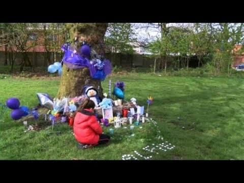 Mourners Lay Flowers After Death Of British Toddler In Liverpool