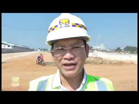 Direktur Pengembangan KBN Tinjau Proyek Depo Kontainer
