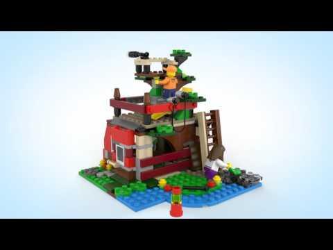 Конструктор Домик на дереве - LEGO CREATOR - фото № 4