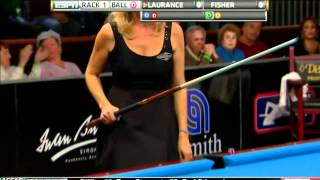 Video 03/18/12 WPBA Masters - Final rack 1 Allison Fisher vs Ewa Mataya Laurance Billiard HD MP3, 3GP, MP4, WEBM, AVI, FLV Desember 2017