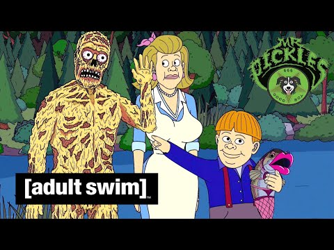 Adult Swim VF - Mr Pickles 🇫🇷 | L'homme-fromage [extrait S01E04]