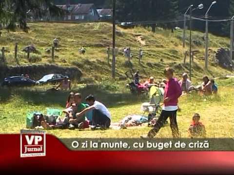 O zi la munte, cu buget de criză