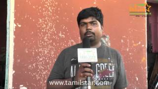 Senthil Raghavan Speaks at Andhra Mess Shooting Spot