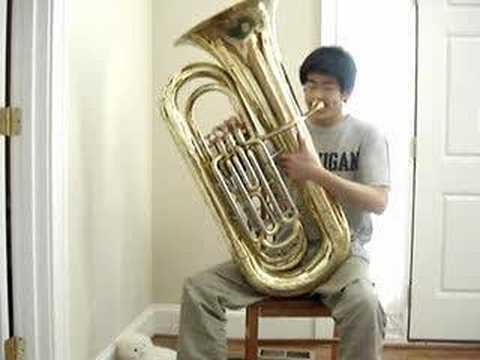 tuba - My failing attempt at playing Pirates of the Caribbean. I learned this all by ear so there's basically no ending and actual transitions.