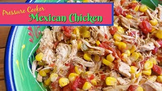 "Join Amy as she makes Pressure Cooker Mexican Chicken. This chicken is great for a once a week or once a month chicken dish that can be put in the freezer for weeknight meals. This starts with onion and garlic that is sauteed in the Electric Pressure Cooker and corn, chicken, Rotel, fire roasted chiles, and seasonings are added. It can be served as pulled chicken or chopped for tacos, burritos, tostadas or served over rice. It is simple to make in your Instant Pot or other electric or stovetop pressure cooker. Amy Learns to Cook is all about learning to make simple, tasty food from fresh ingredients.  One year ago, I made a commitment to stop eating processed convenience foods.  I decided to learn to cook ""real"" food. Join me!  Let's learn to cook together! Enjoy! Please share! Cosori 7-in-1 Electric Pressure Cooker:http://amzn.to/2rLzRerMish Mish Salt & Pepper Grinder Set with Stand:http://amzn.to/2qrbZbYPlease SUBSCRIBE to my channel, LIKE, and leave a COMMENT.Please visit my website: www.amylearnstocook.comAny links in this description, including Amazon, are affiliate links."