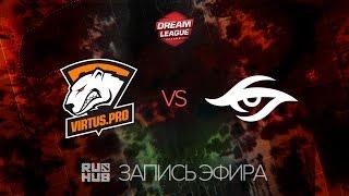 Virtus.Pro vs Secret, DreamLeague Season 7, game 2 [Adekvat, 4ce]