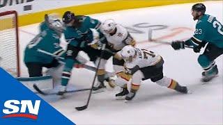 William Karlsson Tips Shot, Then Taps In Own Rebound By Martin Jones by Sportsnet Canada