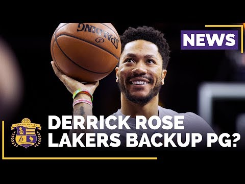 Video: Could Derrick Rose Be The Lakers Backup Point Guard?
