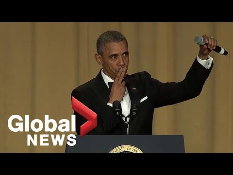 """Obama OUT!"" - Watch the POTUS final WHCD speech- EPIC"