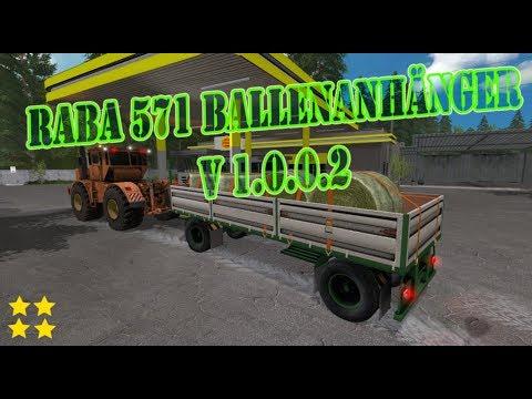 RABA 571 Baletrailer v1.0.0.2