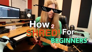 Download Lagu How To Shred For Beginners Part 1 ( With TABS!!) Mp3