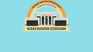 Penyelesaian Gugatan Sederhana (Small Claims Court)