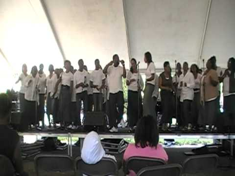 "Apostolic Authority Church Choir singing ""Chasing After You"" at Douglas Park, 2011 part 1"