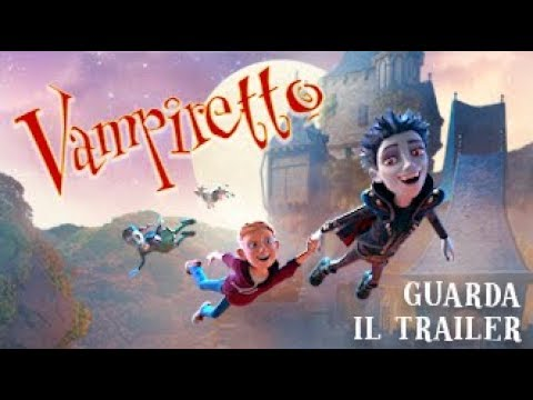 Preview Trailer Vampiretto, trailer italiano ufficiale