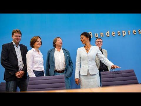 """Linke Sammlungsbewegung """"Aufstehen"""" ist nun offizie ..."""