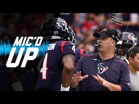 Video: Bill O'Brien Mic'd Up Coaching Deshaun Watson vs. Browns | NFL Films | Sound FX