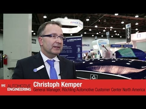 Rochling Automotive interview SAE 2014 World Congress