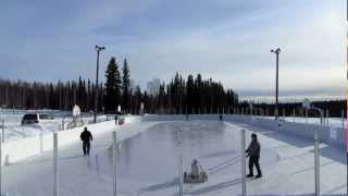 Time Lapse: Pearl Creek Ice Rink Resurfacing