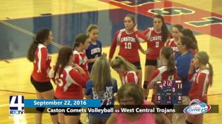 Caston Volleyball vs West Central Trojans