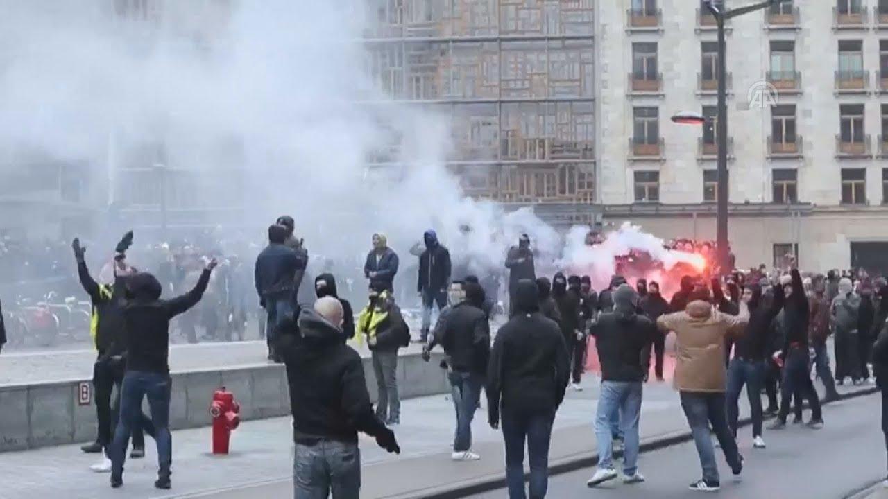 Βρυξέλλες: Επεισόδια και δακρυγόνα έξω από το κτίριο της Κομισιόν