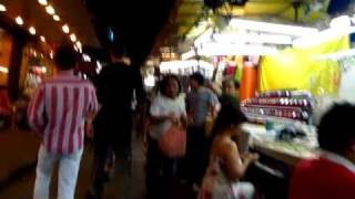 Walk Through Phat Phong Night Bazaar To Go Shopping By Saladaeng BTS Station - Phil In Bangkok
