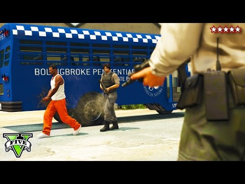 GTA 5 EPIC PRISON BREAK HEIST!! –  GTA 5 Online NEW Heists – (GTA 5 Funny Moments)