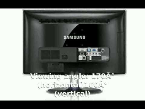 Samsung SyncMaster P2770HD Full Specs, Specification