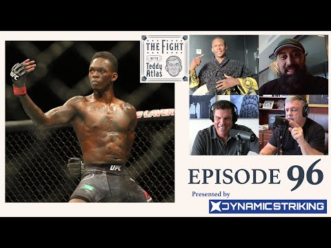 Israel Adesanya & Coach Eugene Bareman interview with Teddy Atlas   THE FIGHT with Teddy Atlas