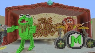 Minecraft Xbox - Hide and Seek - The Muppets Movie