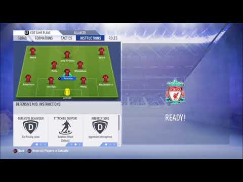 FIFA 19 Liverpool Review - Best Formation, Best Tactics And Instructions