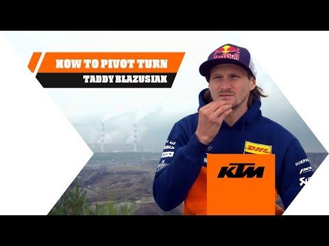 Technique : le demi-tour avec pivot par Taddy Blazusiak