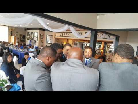 Alpha Hymn At Bro. Smith's Wedding.  Congratulations Great Sir!!