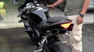 6. 2006 Yamaha R1 (STOCK VS. TOCE EXHAUST)