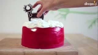 Jak udekorować świąteczne ciasto