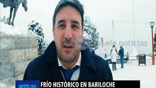 Histórica nevada en Bariloche con temperaturas también récrod. Los 24.5 grados bajo cero de ayer rompieron una marca de 1963. Seguí este video en ...