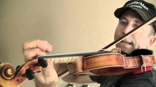 Two Octave G Chromatic Scale for Violin