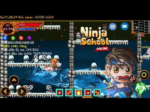 Ninja School Online : Trùm Tiêu 4x Úp Yên Dọn Máp Cực Khét / Cần Tìm Đối Thủ Sánh Vai 7sv