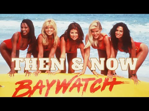 Baywatch (1989) - Then and Now (2021)