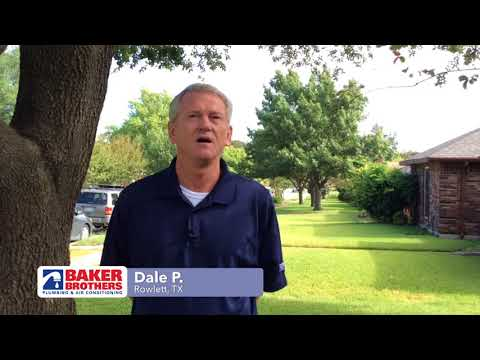 Baker Brothers Plumbing Review – Dale P. – Rowlett, TX