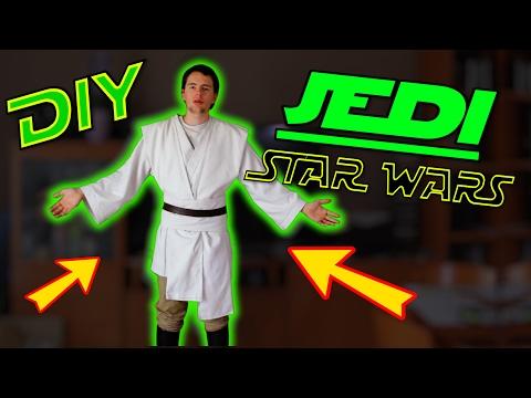 TRAJE JEDI - STAR WARS - DIY  Fácil