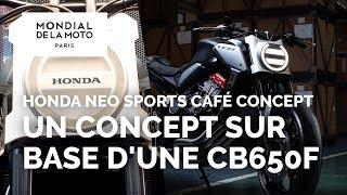 10. Honda Neo Sports Café concept - nouveautés 2019