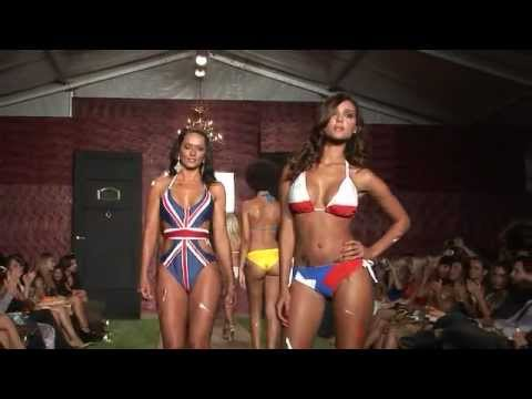 Miami Beach Fashion Week - ICTV1 http://ictv1.com WET COUTURE SWIMWEAR FUNKSHION http://funkshion.com FASHION WEEK MIAMI BEACH FLORIDA. Video by Neil London http://ictv1.com and HD ver...