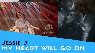 "Video Voice Teacher Reacts to Jessie J - My Heart Will Go On ""Singer 2018"" MP3, 3GP, MP4, WEBM, AVI, FLV Oktober 2018"