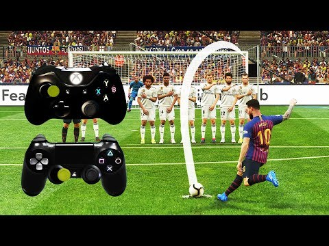 PES 2019 FREE KICK TUTORIAL | Xbox & Playstation | 4K Ultra HD