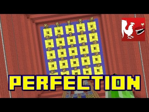 IN - Geoff, Ryan and Gavin put the pieces into the right slot and make the right selections. This week they're playing Perfection in Minecraft! RT Store: http://bit.ly/1vduQ60 Rooster Teeth: http://ro...