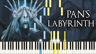 Video [PIANO TUTORIAL] Pan's Labyrinth Lullaby (Synthesia - Easy Piano Learning - Movie Soundtrack) MP3, 3GP, MP4, WEBM, AVI, FLV Agustus 2018