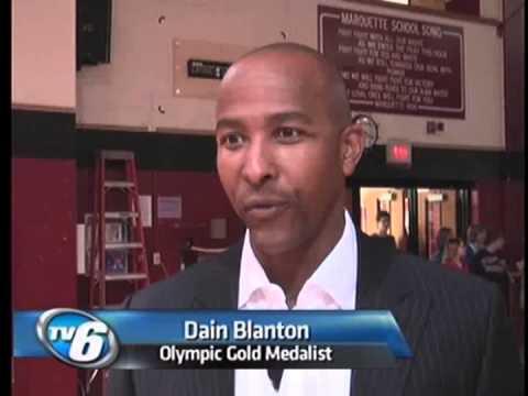 Blanton visits MSHS
