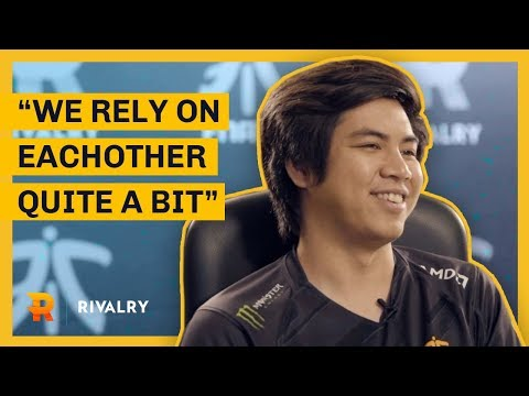 """We rely on each other quite a bit"" 