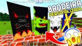 Video COMO FAZER BANDEIRA PERSONALIZADA NO MINECRAFT PE 1.2 OFICIAL ! - (Minecraft Pocket Edition) MP3, 3GP, MP4, WEBM, AVI, FLV Mei 2019