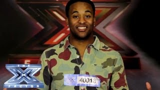 Yes, I Made It! Dante Streater - THE X FACTOR USA 2013